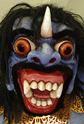 Seeing Art - Traditional Mask Bali Indonesia by Bob Christopher