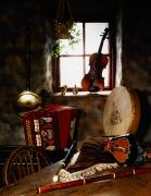 Flutes Photos - Traditional Musical Instruments, In Old by The Irish Image Collection 