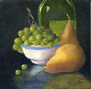 Grapes Art Originals - Traditional Reflections by Colleen Lambert