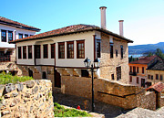 Villa Pyrography - Traditional Stone house at Kastoria Greece by Soultana Koleska