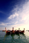 Escape Photo Originals - Traditional Thai Long-tail boat by Anek Suwannaphoom
