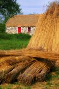 Straw Roof Art - Traditional Thatching, Ireland by The Irish Image Collection