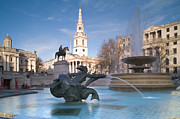 Town Square Prints - Trafalgar Square, London, England Print by Ben Pipe Photography