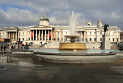 Trafalgar Framed Prints - Trafalgar Square Framed Print by Rob Hawkins