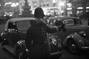 Cop Car Framed Prints - Traffic Cop Framed Print by Kurt Hutton