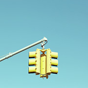 Clear Sky Art - Traffic Light by Justinwaldingerphotography