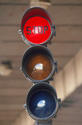 Traffic Lights Photos - Traffic Lights by David Parker.
