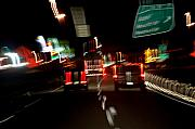 Freeway Digital Art - Traffic by Robert Meanor