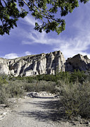 Kasha Katuwe Tent Rocks Prints - Trail to Tent Rocks Print by Alan Toepfer