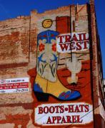 Trail West Mural Print by Susanne Van Hulst