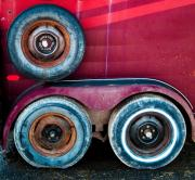 Wheels Art - Trailer Tires by Emilio Lovisa