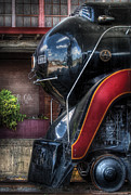 Va Acrylic Prints - Train - Engine - 611 - NW - J Class - Steam 4-6-4 Acrylic Print by Mike Savad