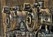 Pa Prints - Train - Engine - Brothers Forever Print by Mike Savad