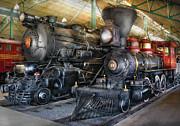 Train - Engine - Steam Locomotives Print by Mike Savad