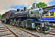 Iron Horse Art - Train - Steam - 385 Fully Restored by Paul Ward