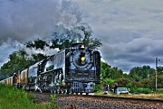 Joseph Porey Metal Prints - Train 844 Metal Print by Joseph Porey