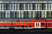 Abstracted Photos - Train abstract by Andrew  Michael