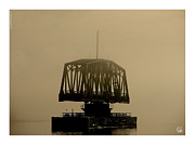 Fog On Water Framed Prints - Train Bridge in Fog Framed Print by Dan Daulby