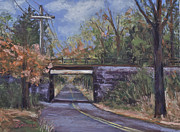 Joyce A Guariglia - Train Bridge