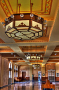 Train Depot Photos - Train Depot in Cheyenne by David Bearden
