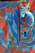Door Knob Prints - Train Door Print by William Jones