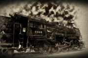 Rail Digital Art - Train In Vain by Bill Cannon