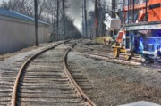 Trains Photos - Train Series 1 by David Bearden