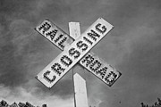 Train Crossing Prints - Trains Coming Print by Betsy A Cutler East Coast Barrier Islands