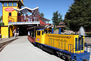 Train Rides Prints - Traintown Sonoma California - 5D19236 Print by Wingsdomain Art and Photography