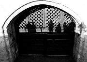 Ghost Castle Prints - Traitors gate and Ghostly images  Print by David Pyatt