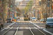 Layer Prints - Tram  Print by Kam Chuen Dung