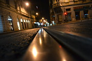 Tram Originals - Tramroad at midnight by Denis Perunicic