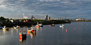 River Tees Prints - Tranquil morning at Paddys Hole Print by Gary Eason