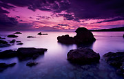 Greek Metal Prints - Tranquil Sea Metal Print by Richard Garvey-Williams