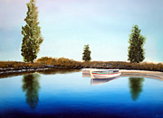 Larry Cirigliano Acrylic Prints - Tranquil Waters Acrylic Print by Larry Cirigliano