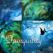 Abstract Fine Art Paintings - Tranquility by MADART by Megan Duncanson