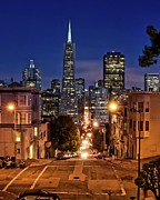 Downtown District Prints - Transamerica Pyramid Print by Thomas Kurmeier