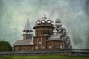 Russia Metal Prints - Transfiguration Cathedral. Kizhi Island. Russia Metal Print by Juli Scalzi