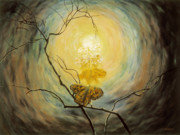 Metaphysical Paintings - Transformation by Joyce Huntington
