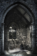 Spooky Scene Posters - Transformation  Poster by Svetlana Sewell