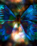 Moments Digital Art Posters - Transforming Hearts Poster by Fania Simon