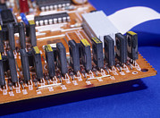 Transistors And Diodes Print by Andrew Lambert Photography