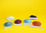 Comparing Photos - Transition Metal Compounds by Andrew Lambert Photography
