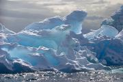 Icebergs Photos - Translucent Iceberg by Ira Meyer