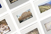Slide Photographs Framed Prints - Transparencies On A Lightbox Framed Print by Johnny Greig