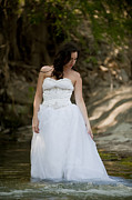 Brides Dress Prints - Trash The Dress Bride Print by Andre Babiak