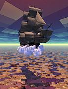 Travel In Another Dimension Print by Claude McCoy
