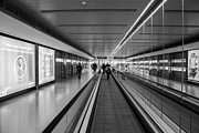 Airport Architecture Prints - Travelling Print by Semmick Photo