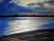 Lisa Dionne Art - Traverse Bay by Lisa Dionne