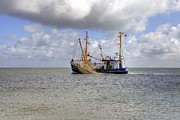 Fishing Trawler Framed Prints - trawler - Sylt Framed Print by Joana Kruse